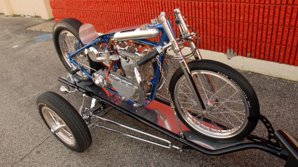 Triumph Drag Bike