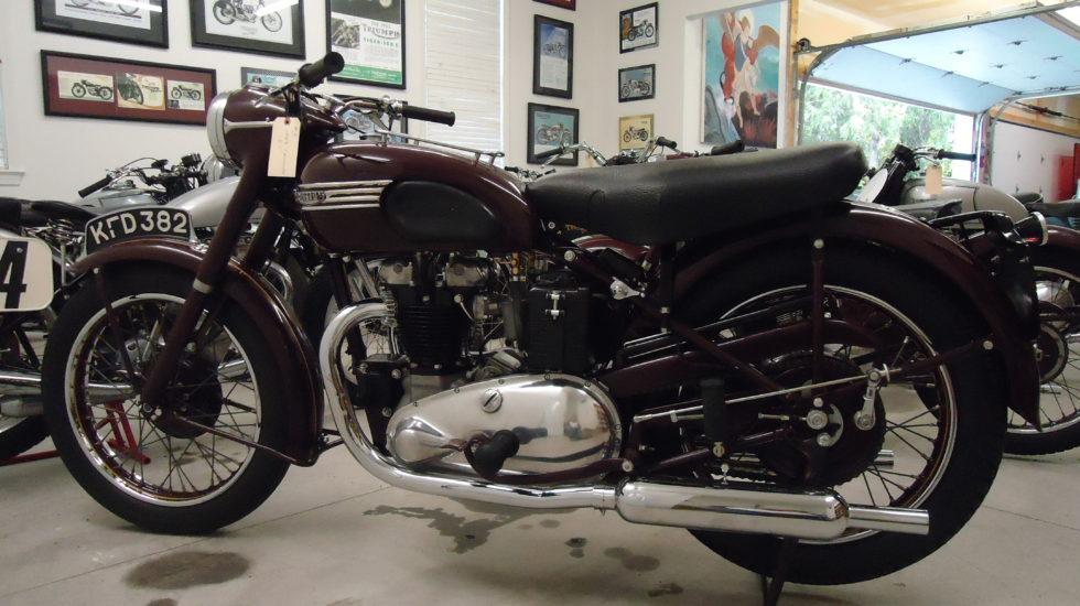 1949 Triumph 5T Speed Twin